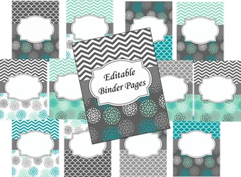 Editable Instructional Partner Binder
