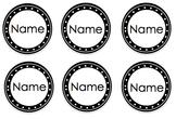 Editable Labels - BW & Color