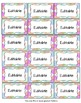 Editable Labels, Binder Covers & Spines - Pastel Watercolor Dots