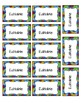 Editable Labels, Binder Covers & Spines - Puzzle