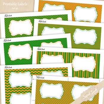 Editable Labels Set 36