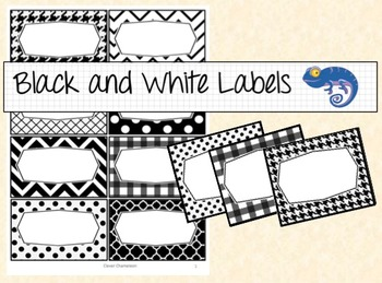 Labels Eight Sizes