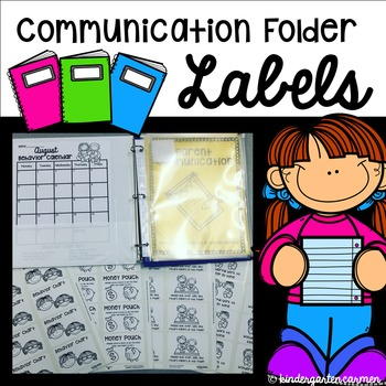 Editable Labels for Communication Folder or Notebook