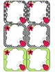 Editable Labels in Ladybug Love {lime and black}