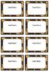 Editable Leopard Print Labels