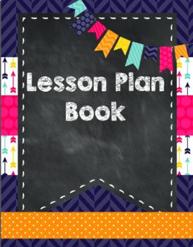 Editable Lesson Plan Book and Teacher Binder by Kinder League