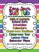 Editable Long Term Sub Tub for the Special Education Classroom