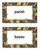 Editable Louisiana History Word Wall