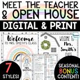 Open House - Back to School Night  (Editable)