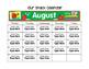 Editable Monthly Snack Calendars 2016-2017