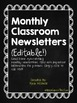 Editable Monthly/Weekly Newsletters (August-June)