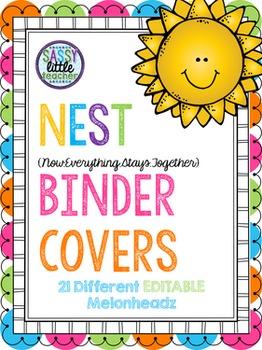 Editable NEST Binder Covers