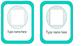 Editable Name Tag Cards
