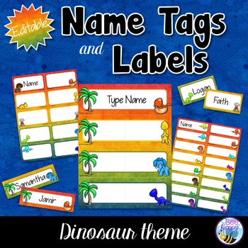 Editable Name Tags, Badges and Labels