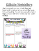 Editable Newsletter (with picture templates)- Free Sample