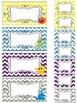 Ocean Teacher Toolbox and Drawer Labels {Editable}