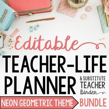 Organizer AND Substitute Binder Bundle for Upper Grades: N