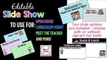 Editable Parent Night PowerPoint Presentation