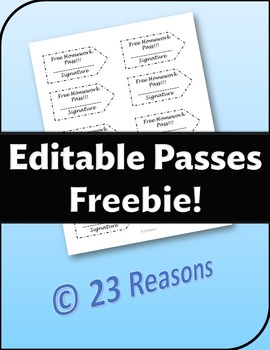 Editable Passes and Mini-tutorial