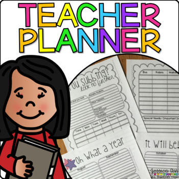 Planner, Gradebook, and Attendance Record Book!