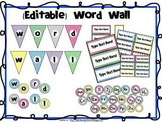 Word Wall {Editable}
