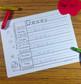 Preschool and Kindergarten Name Writing Practice Sign In Sheets