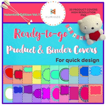 Editable Product & Binder Covers - Valentine Edition Vol.1