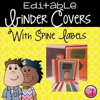 Editable Quatrefoil Binder Covers & Spine Labels {Featurin