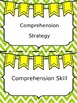 Editable Reading Headers Green Chevron Background