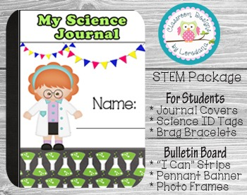 Editable STEM Classroom Package