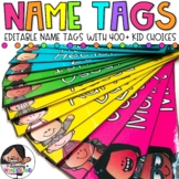 Name Tags {Editable Skinny Name Tags - Melonheadz Edition}