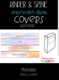 "Spine Covers-1"" & 2"" Binders"