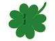 Editable St. Patrick's Day Shamrock Four Leaf Clover Labels