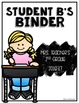 Editable Student Binder Covers & Spines
