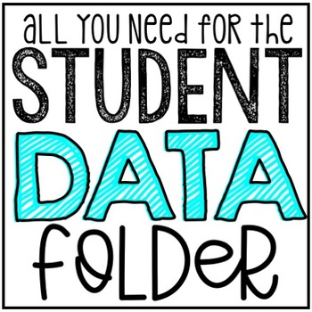 Editable Student Data Tracking Sheets Option #2