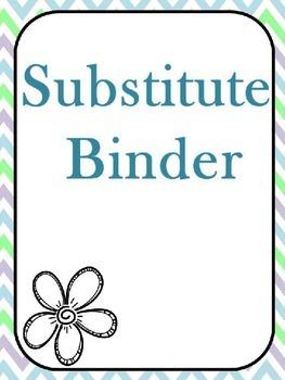 Editable Sub Binder- Flower