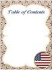 Editable Substitute Binder (Patriotic Theme)