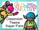 Editable Superhero Calendar Classroom Super Pack