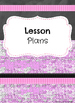 Editable Teacher Binder Covers and Spines (Pink Brick & Ch