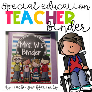 Special Education Binder {editable}