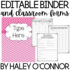 Teacher Binder {Editable and Updated through 2018}