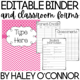 Teacher Binder {Editable and Updated through 2018}