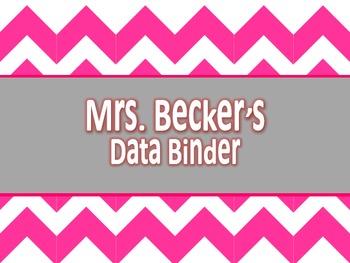 Editable Teacher ELA Data Binder {All Grades}