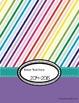 Editable Teacher Planner, Calendar, and Organizer--Rainbow