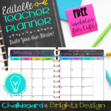 Ultimate Teacher Planner & Organizer Binder - EDITABLE {Ch