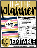 Editable Teacher Planner {The Glam Teacher}