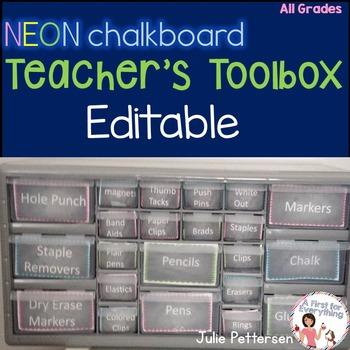 Editable Teachers Toolbox