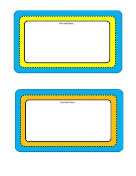 Editable Text Frames
