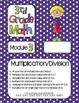 Editable THIRD Grade Math Engage New York Binder Covers -