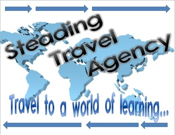 Editable Travel Agency Classroom Sign {Travel Theme!}
